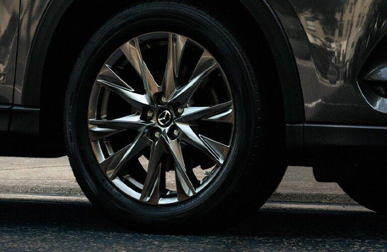 2020 CX-5 wheel close-up