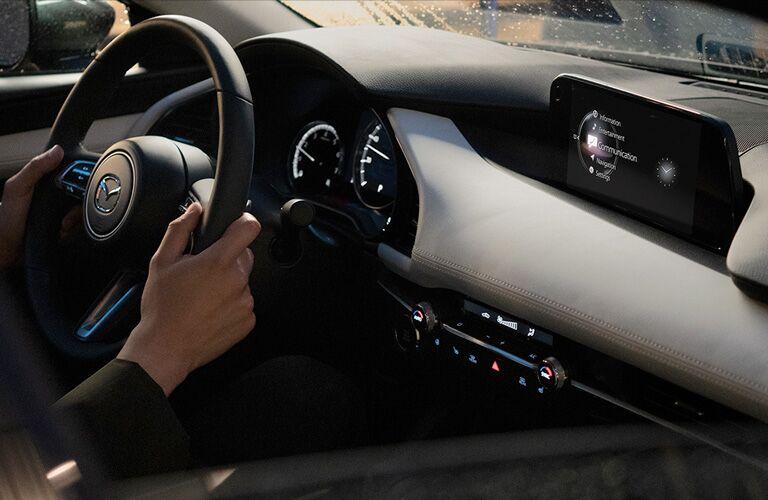 2020 Mazda3 cockpit showcase
