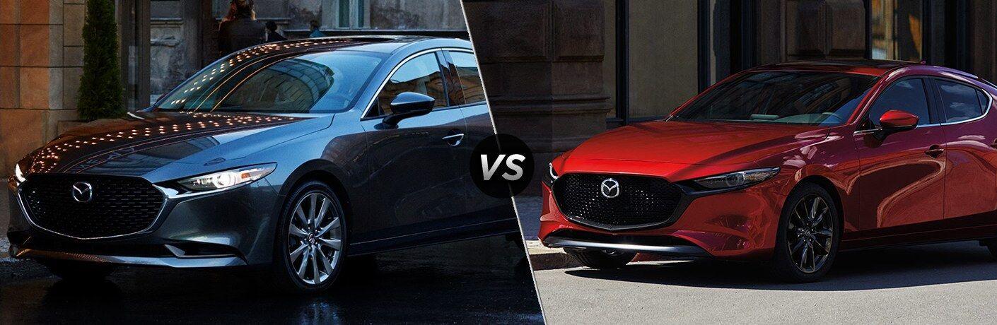 2020 Mazda3 Sedan vs 2020 Mazda3 Hatchback