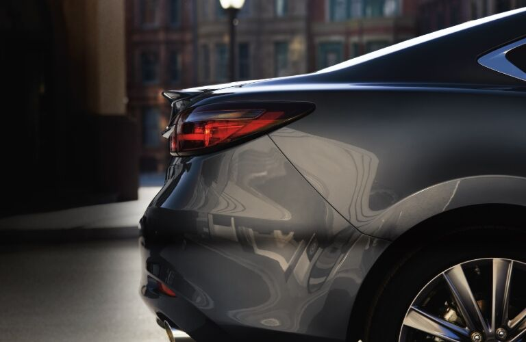 2020 Mazda6 rear end closeup