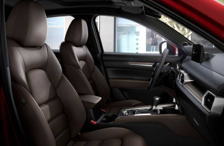 2021 CX-5 front seating showcase