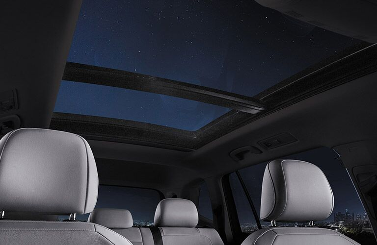 2021 Tiguan panoramic sunroof