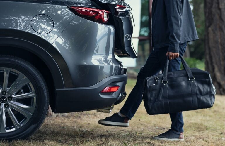 2021 CX-9 hands-free power liftgate