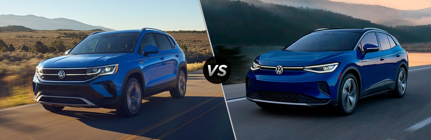 2022 Volkswagen Taos vs 2021 Volkswagen ID.4