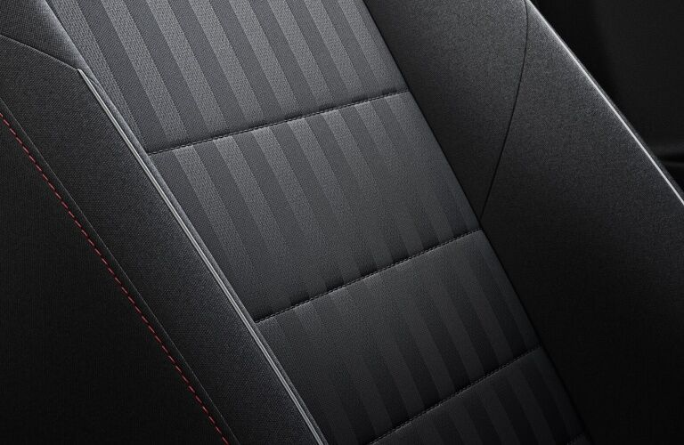 2020 Jetta GLI seat material close-up