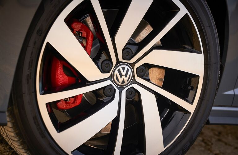 2020 Jetta GLI wheel and brakes showcase