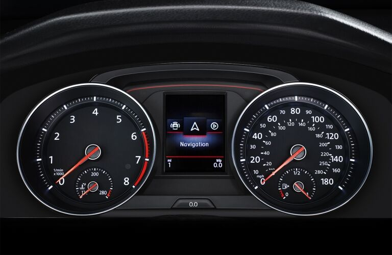 2020 Golf GTI gauges showcase