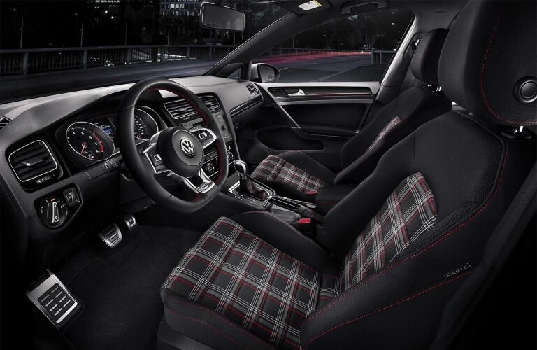 2020 Golf GTI cockpit showcase