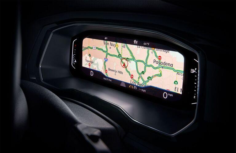2020 Jetta digital cockpit showcase