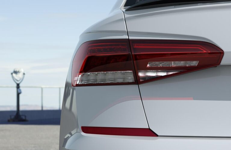 2020 Passat rear taillight close up