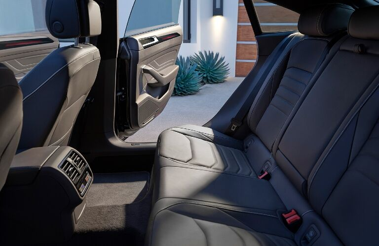2021 Arteon rear seating showcase