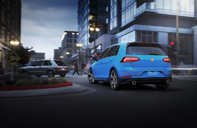 2021 Golf GTI rear exterior view