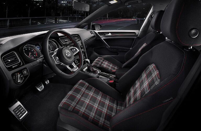 2021 Golf GTI cockpit showcase