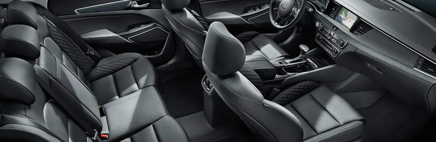 Spacious Seating Capacity Inside the 2018 Kia Cadenza