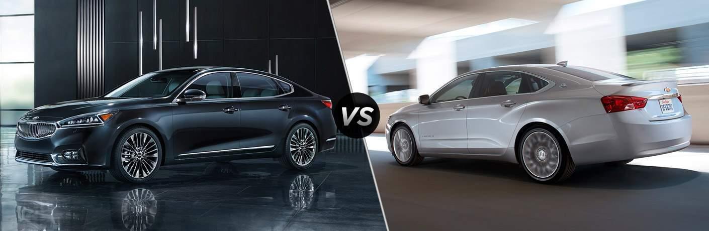 2017 Kia Cadenza vs 2017 Chevy Impala