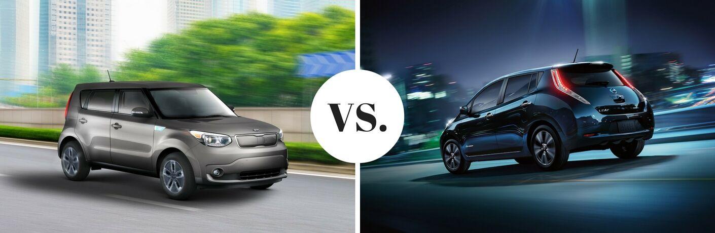2017 Kia Soul EV vs. 2017 Nissan LEAF