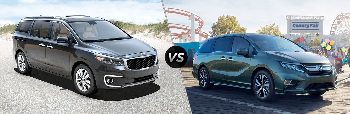 2019 Kia Sedona vs 2018 Chrysler Pacifica