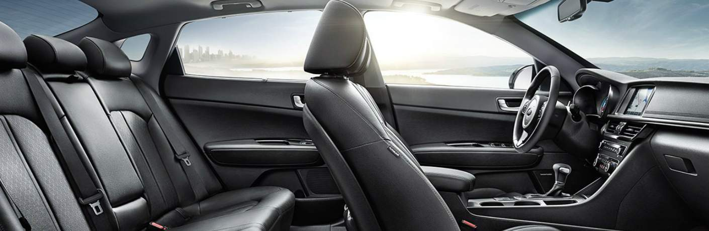 Seating and Interior of the 2018 Kia Optima Hybrid