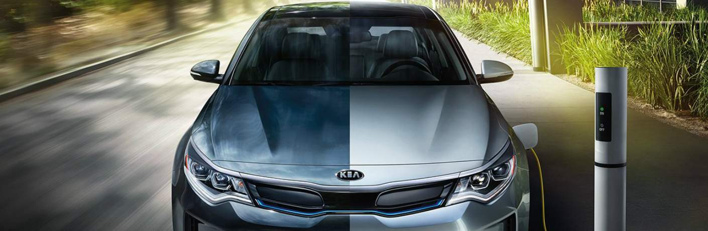 2018 Kia Optima Plug-In Hybrid Charging