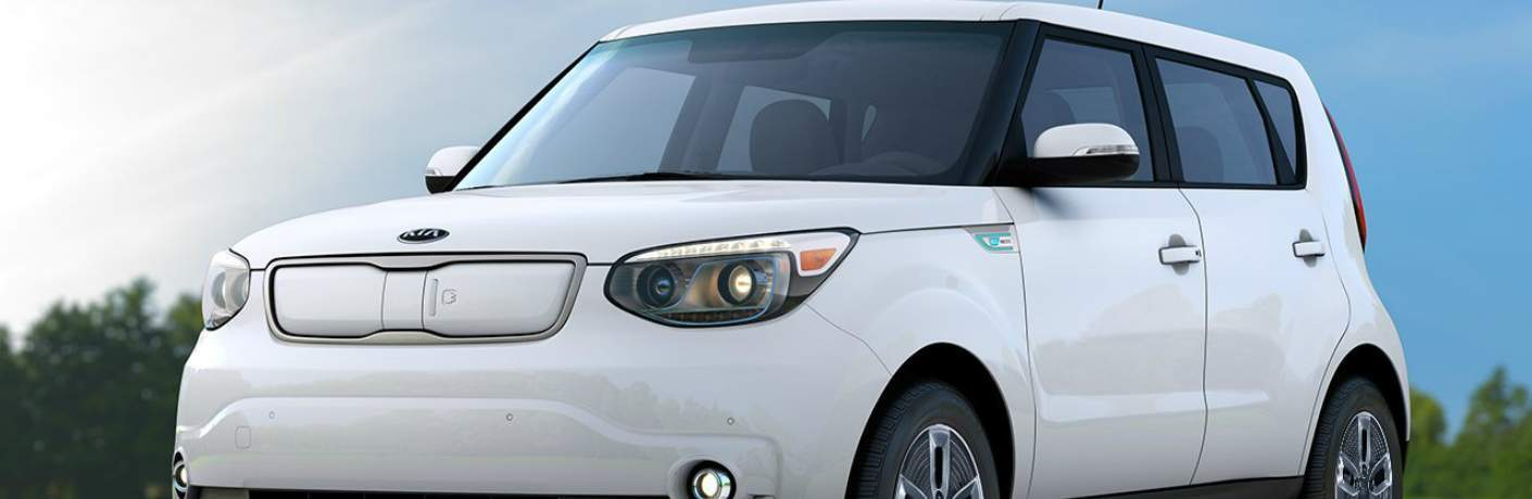 Front End of the 2018 Kia Soul EV
