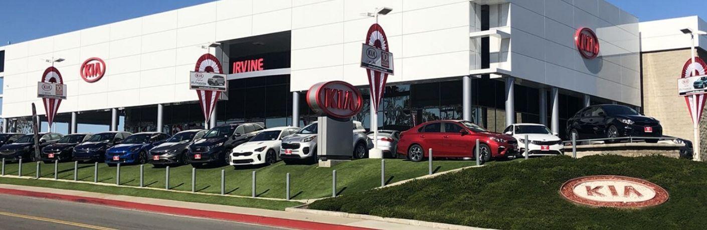 Image of the Kia of Irvine dealership