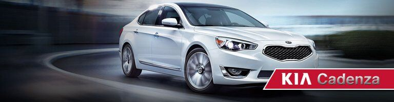New Kia Cadenza at kia of irvine