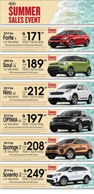 Kia of Irvine Summer Sales Event