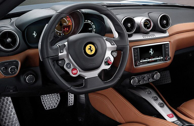 2016 Ferrari California T Chicago IL interior