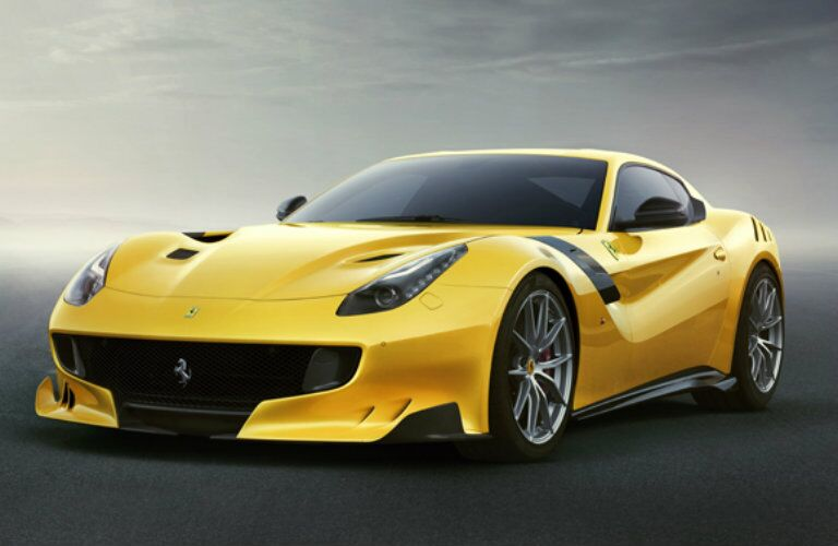 new Ferrari F12tdf horsepower