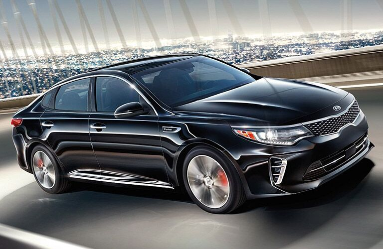 2016 Kia Optima black front