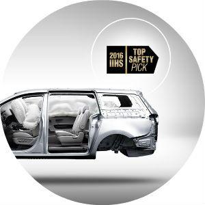 2017 Kia Sedona safety features