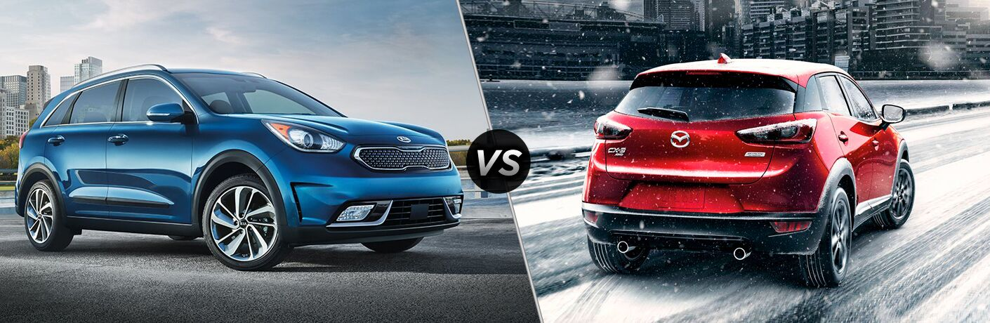 2018 Kia Niro vs 2018 Mazda CX-3