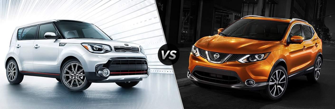 2018 Kia Soul vs 2017 Nissan Rogue