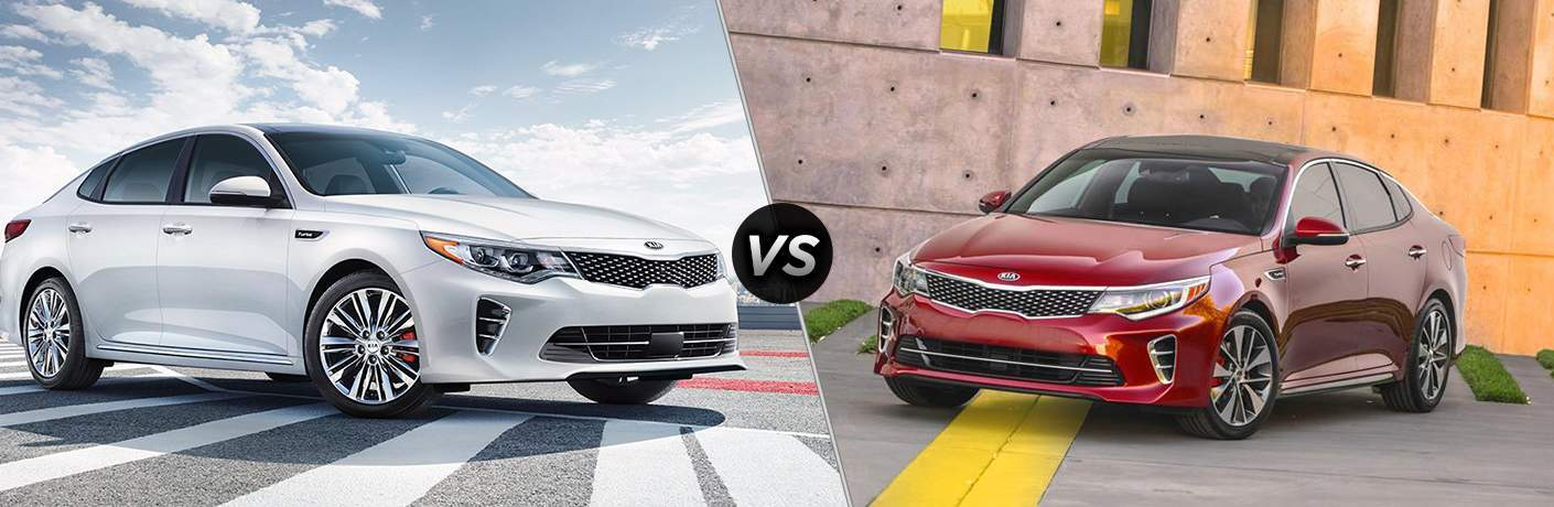 2018 Kia Optima vs 2017 Kia Optima