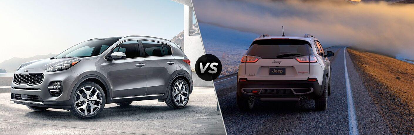 2019 Kia Sportage vs 2019 Jeep Cherokee