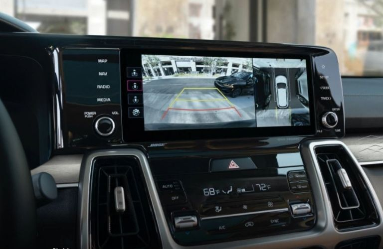 2021 Kia Sorento rear view camera