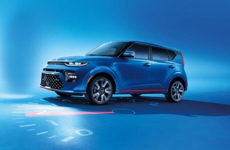2022 Kia Soul Blue SUV