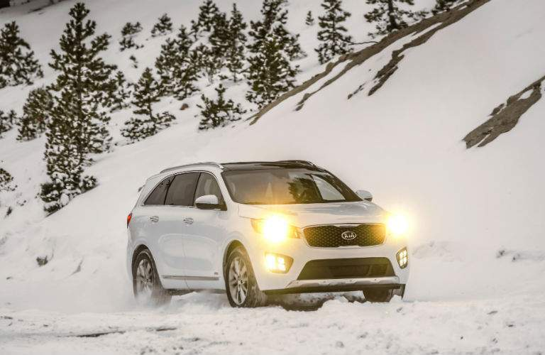 Bad roads are no match for the 2017 Sorento