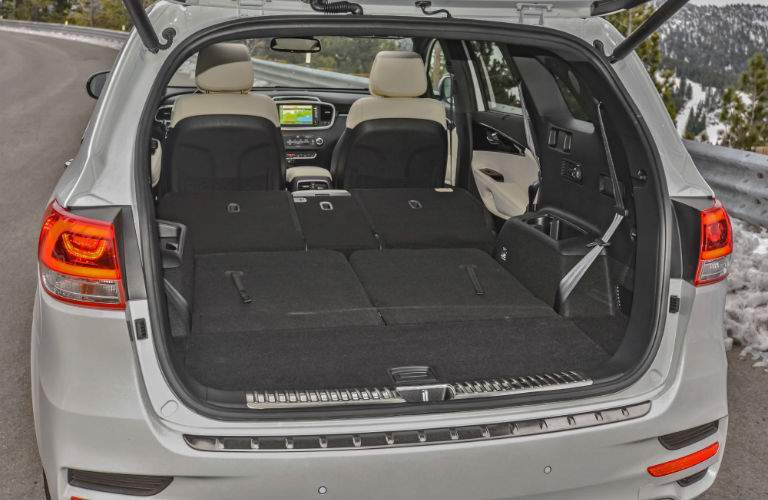 The interior of the 2017 Sorento can fit almost any need