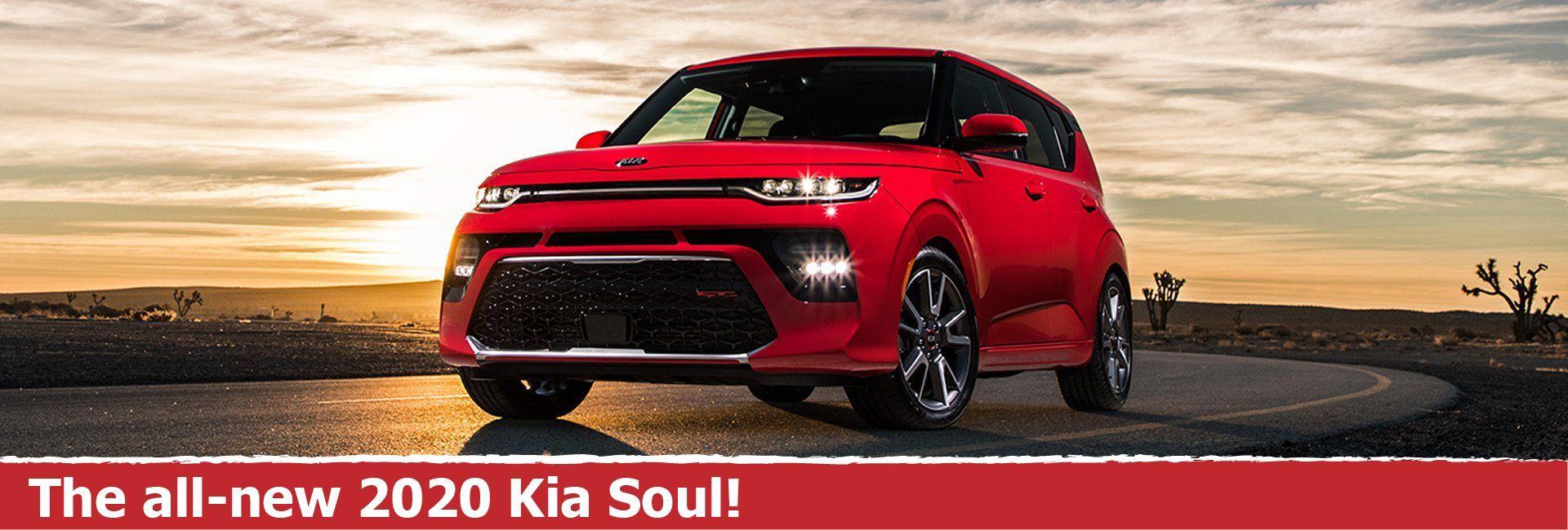 The all-new 2020 Kia Soul