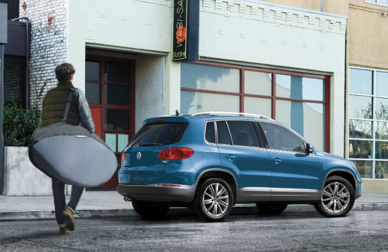 Tiguan in Blue