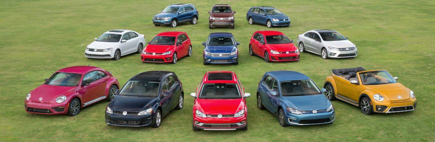 Volkswagen model lineup