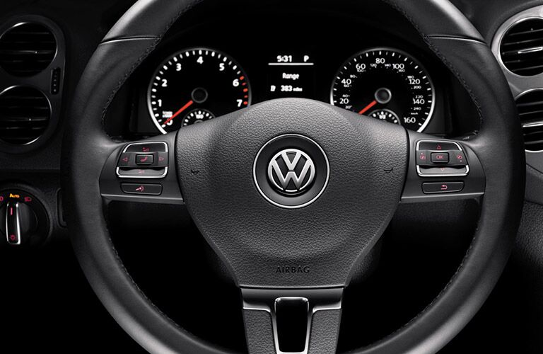 Tiguan steering wheel