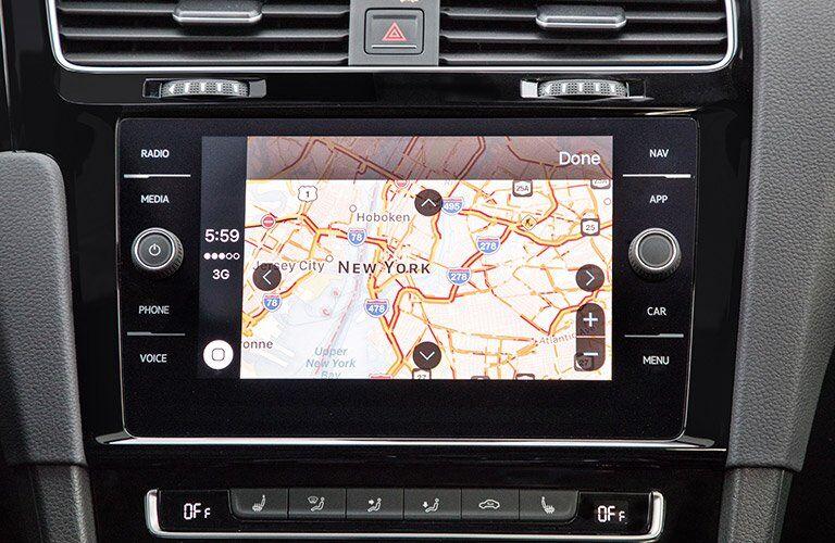 2018 VW Golf GTI Touchscreen Navigation