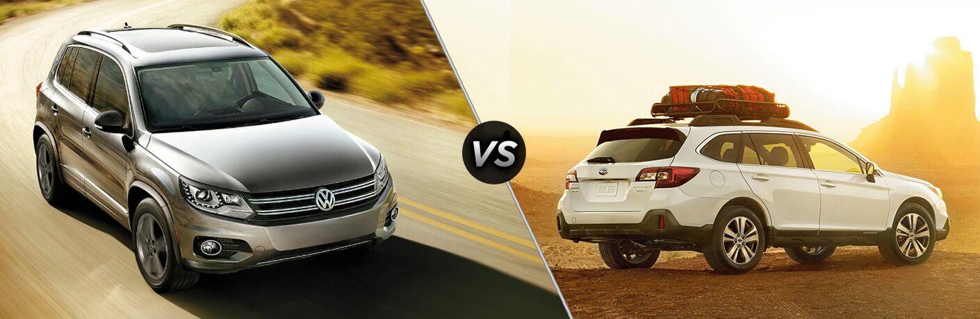 2018 Volkswagen Tiguan vs 2018 Subaru Outback