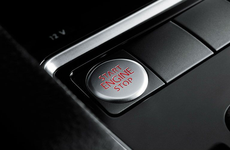 VW GTI Push Start Button