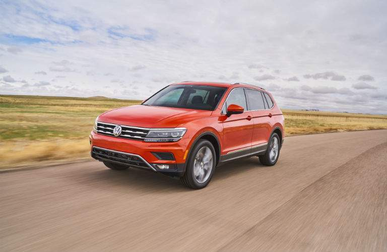 The 2018 Tiguan is larger and more powerful than the previous generation