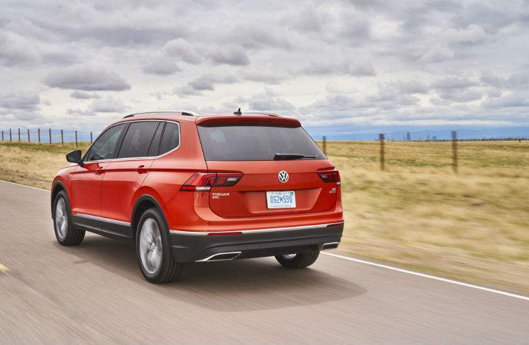 2018 Tiguan is 10 inches longer than the 2017 model