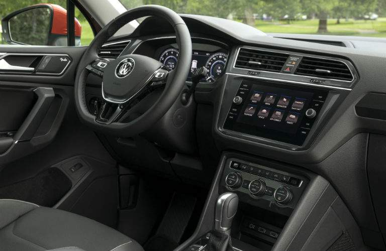 Almost all of the latest VW tech is available with the 2018 VW Tiguan
