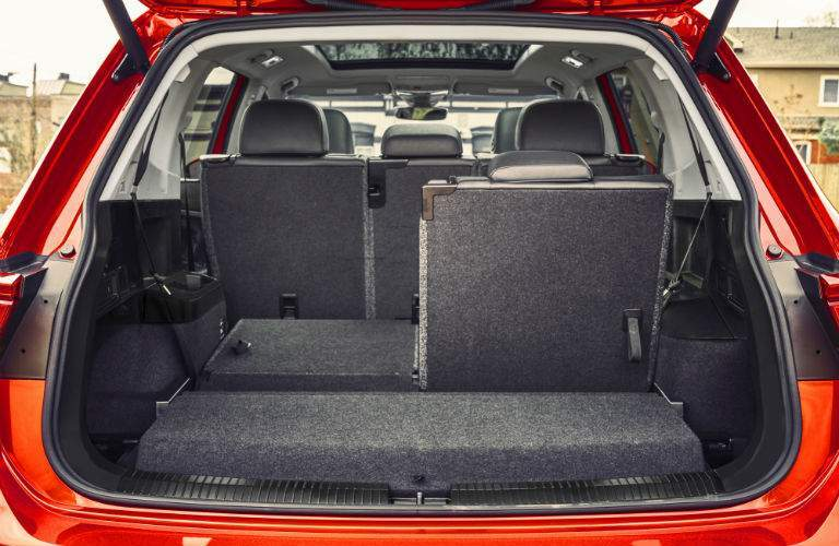 The 2018 Tiguan has more cargo space than the 2018 RAV4